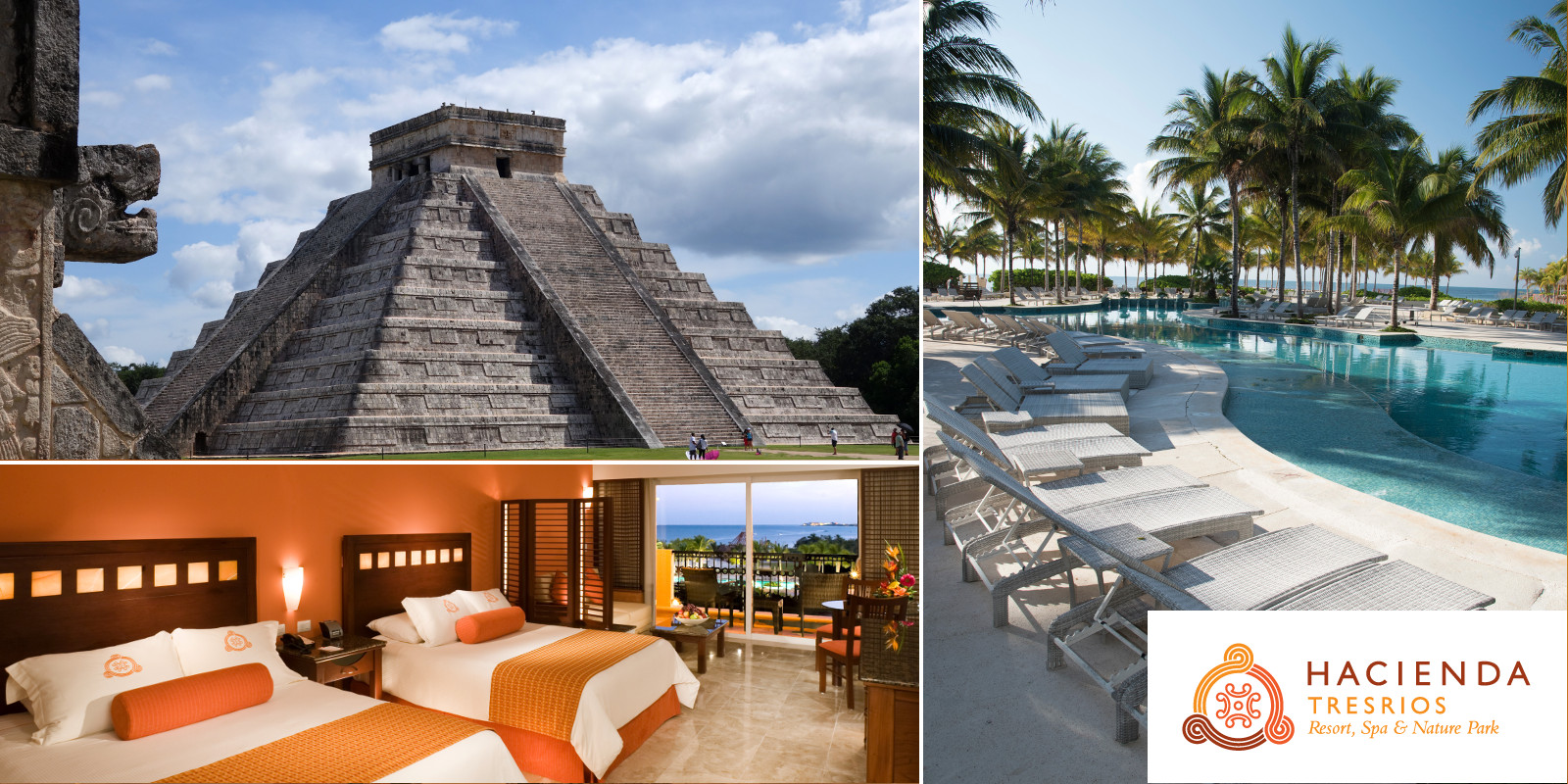 RIVIERA MAYA ALL INCLUSIVE VACATION + CHICHEN ITZA MAYAN RUINS