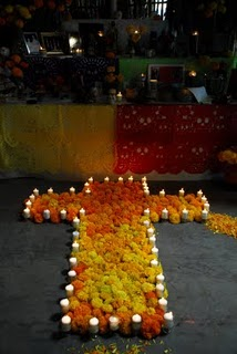 candles-and-marigolds